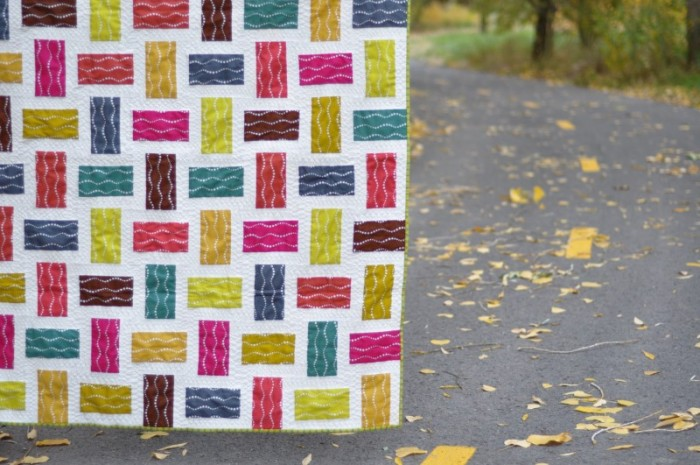 Crossed Paths: A Rail Fence Quilt Tutorial