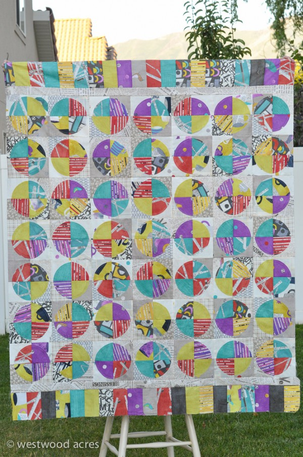 Collage Quilt Top