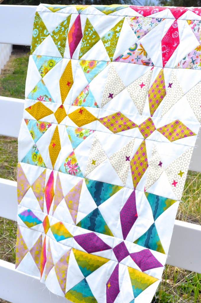 Clover Sunshine Treasure Hunt Quilt