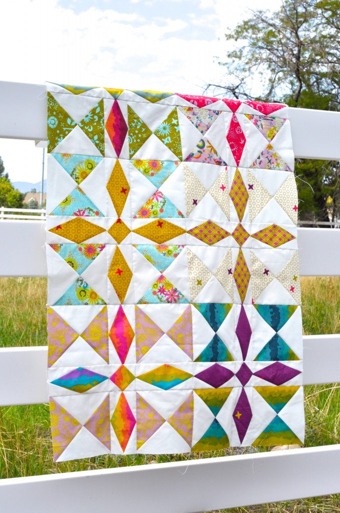 Treasure Hunt Quilt in Clover Sunshine