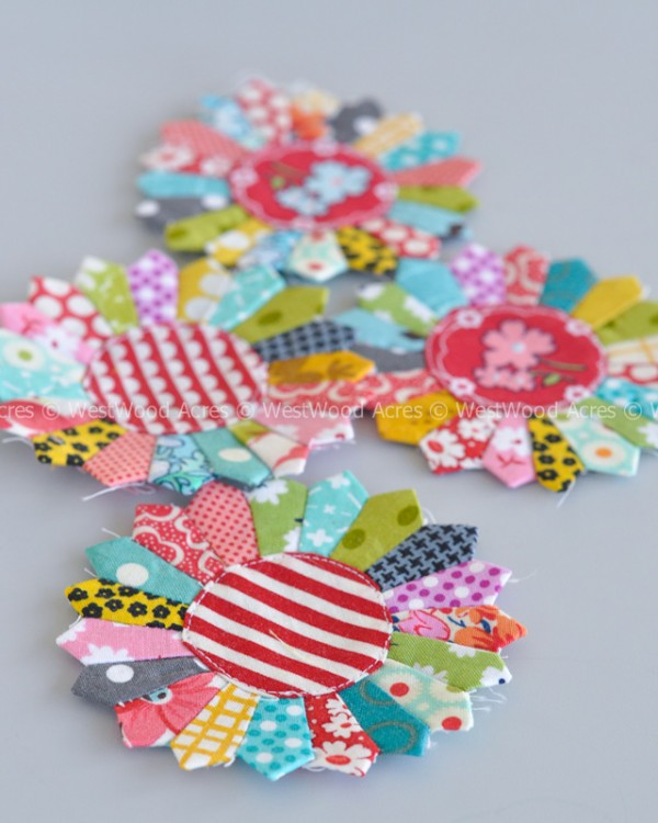 Free Mini Dresden Pattern from Amanda at A Crafty Fox