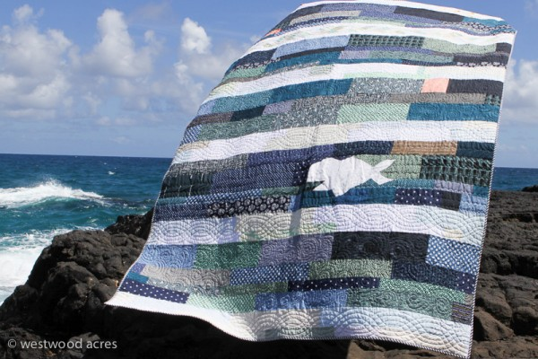 Swept Away: Sewvivor Nautical Quilt and Tutorial