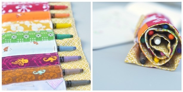 Color Her World: A Crayon Roll Tutorial