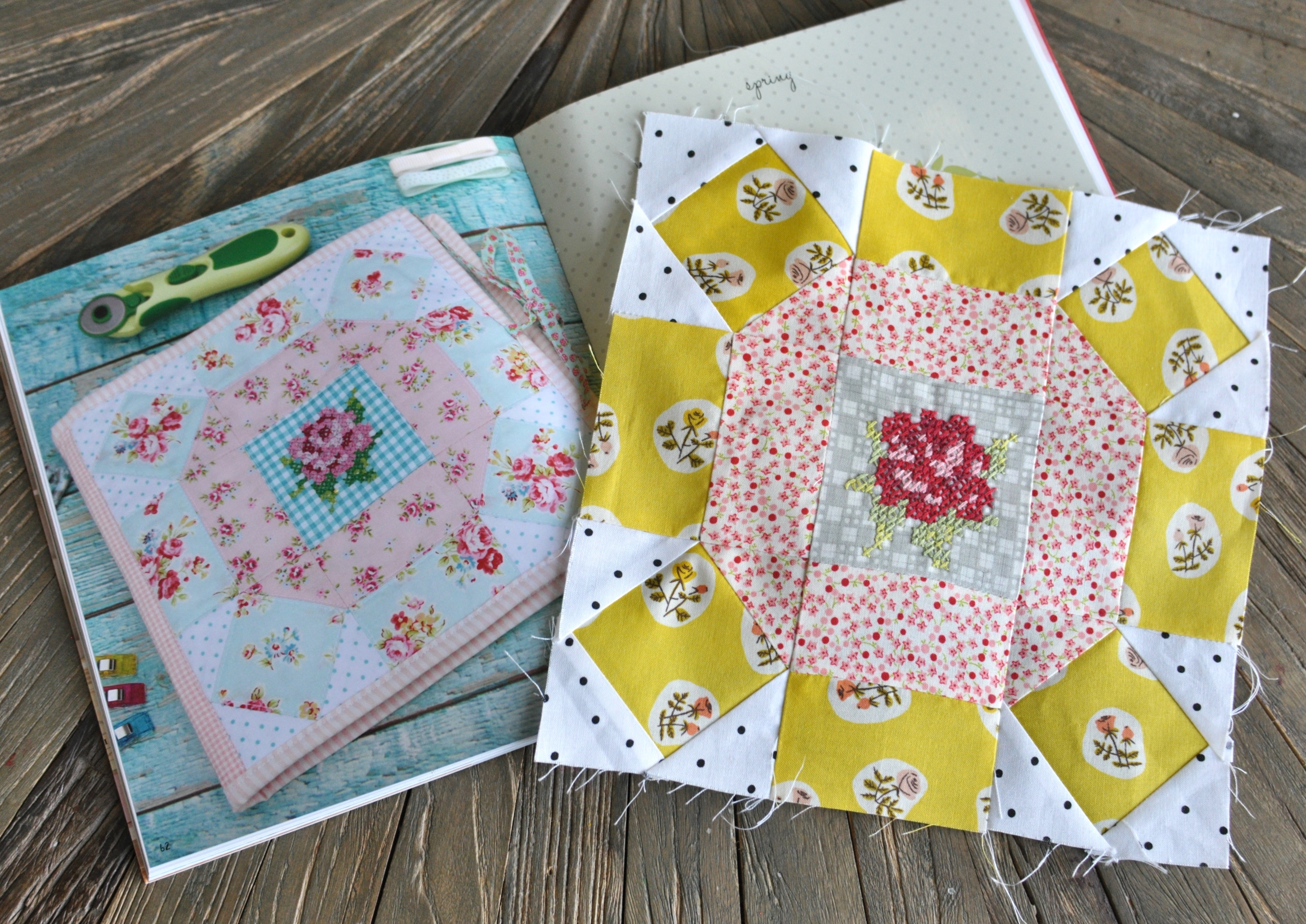 Lovely Little Patchwork : 18 Projects to Sew Through the Seasons by Kerri Horsle