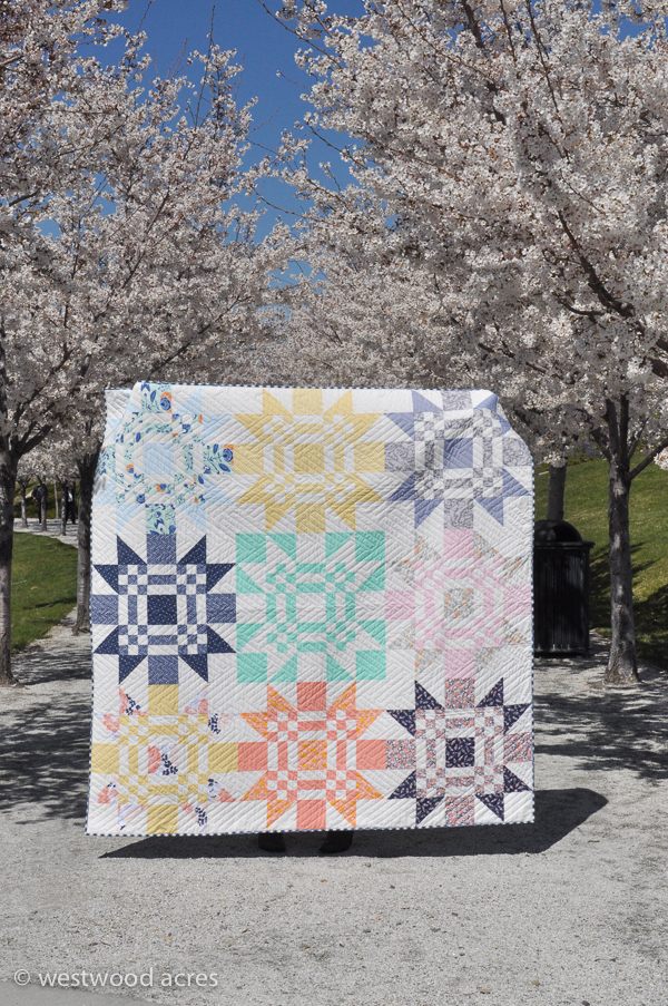 Red Letter Day Quilt at A Crafty Fox (Click for Binding Tips!)