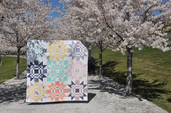 Red Letter Day Quilt at A Crafty Fox Blog