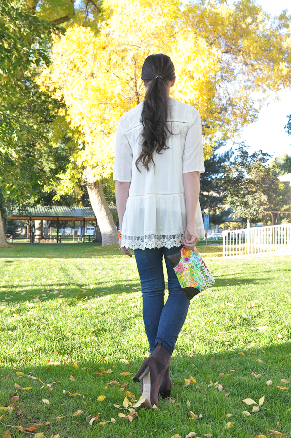 Fall In Bloom: A Free Liberty of London Clutch Pattern
