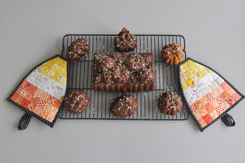 candy-corn-oven-mits-and-pumpkin-bread